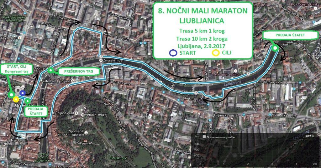 TRASA 5, 10 km